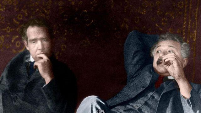 Albert Einstein ve Niels Bohr