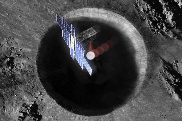 Dibujo del Lunar Flashlight