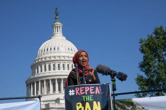 Congresista demócrata Ilhan Omar
