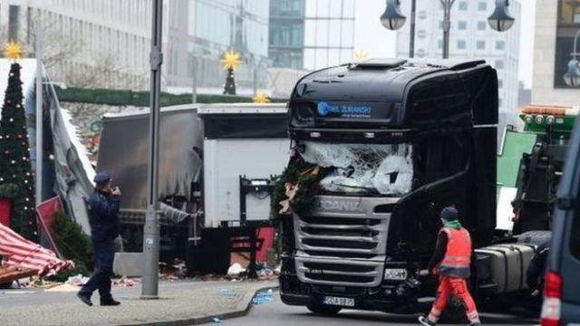 हमले में शामिल ट्रक