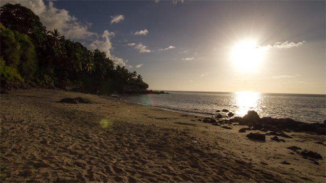 Anjouan coastline