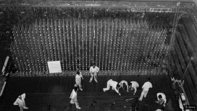 Reactor B, y'i Hanford, Washington