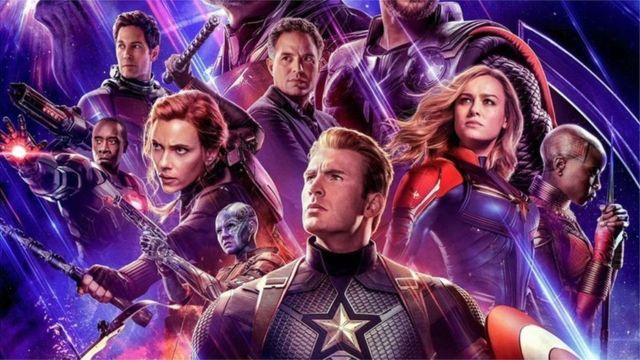 Poster de la película Avengers Endgame