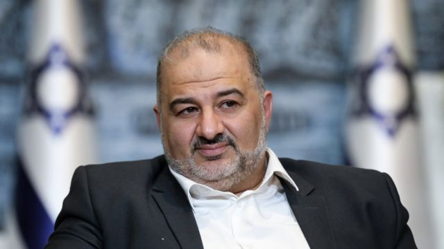 "منصور عباس زعيم حزب ""راعم"""