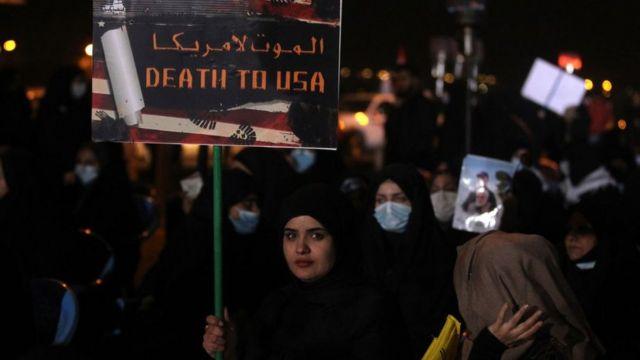 تجمع در نزدیکی فرودگاه بغداد