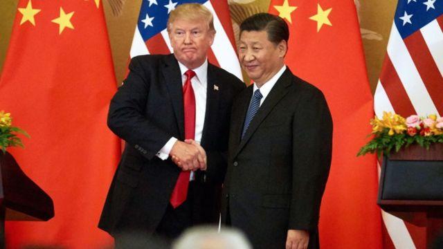 Çin lideri Şi Cinping ve Trump