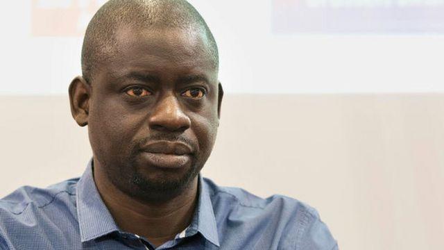 L'écrivain, économiste et musicien sénégalais Felwine Sarr