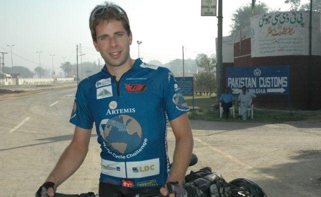 Mark Beaumont en 2008