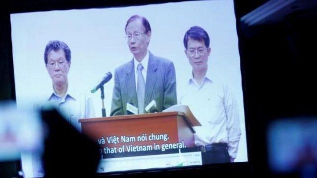 Cách đây một năm, người đứng đầu Formosa Hà Tĩnh đã chính thức nhận lỗi về sự cố môi trường biển