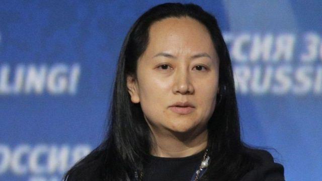 Mạnh Vãn Chu, giám đốc tài chính và phó chủ tịch của Huawei,