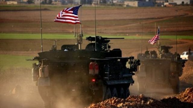 قوات أمريكية في سوريا