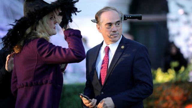 David Shulkin, ecretario para asuntos relacionados con los veteranos de Estados Unidos