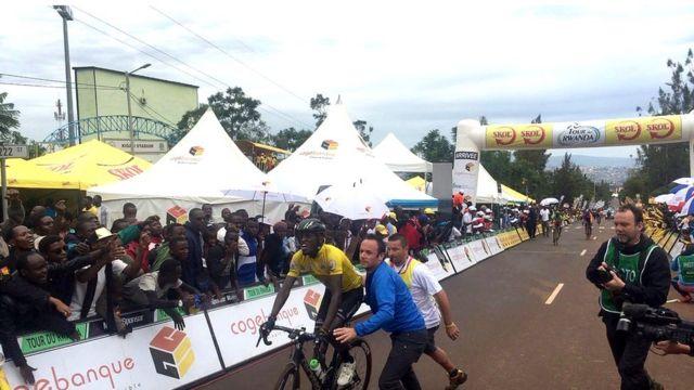Ndayisenga afite amahirwe yo kwegukana Tour du Rwanda ejo ku Cyumweru
