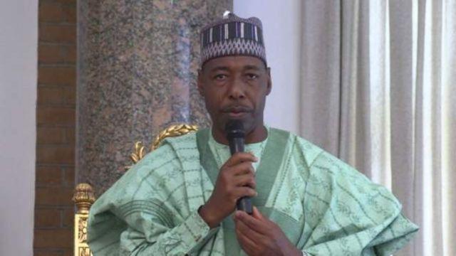 Selon Babagana Zulum de Borno, l'armée manque de personnel pour combattre les militants