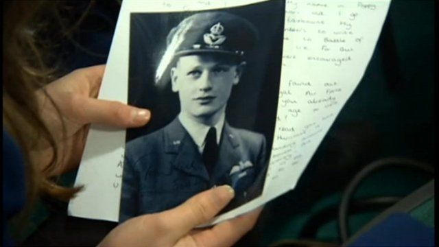 Pupils have received letters from 11 surviving pilots