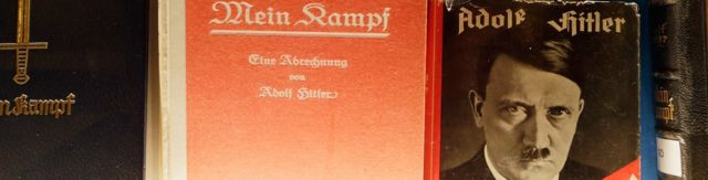 "Historic copies of Adolf Hitler's ""Mein Kampf"""