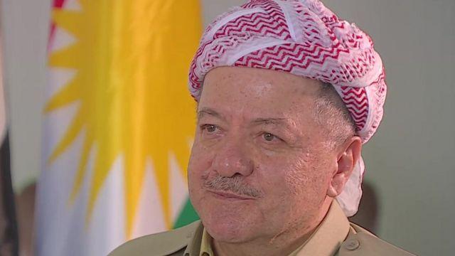 Iraqi Kurdistan President Masoud Barzani