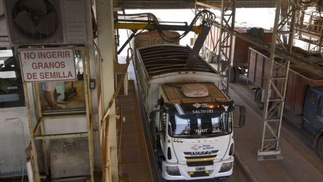 Camion en Argentina