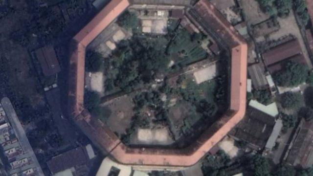 Vị trí trại giam Chí Hòa