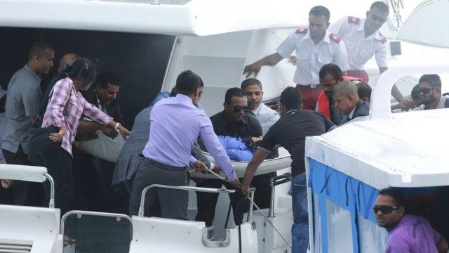 モルジブ検察は、爆発は暗殺未遂事件だったとみている