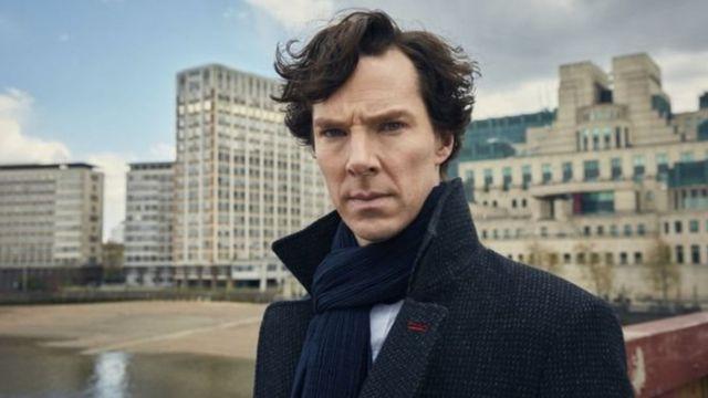 Benedict Cumberbatch, actor que interpreta a Sherlock Holmes