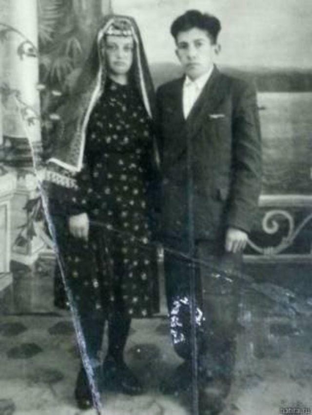 Urallarda Tatar bir çift
