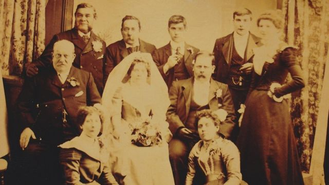 Alfred Thomas Merryman family photo