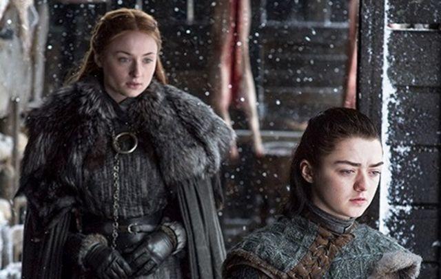 Sansa ve Arya