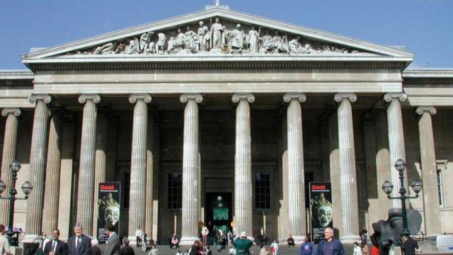 Британский музей в центре Лондона