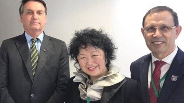 Wizard com Bolsonaro e Nise Yamaguchi