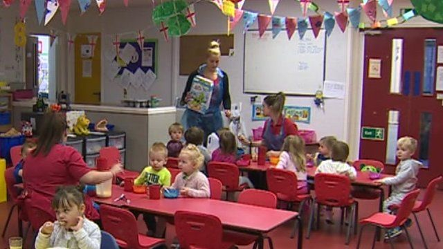 Parents at Little Inspirations nursery in Llantrisant pay £40 a day for childcare