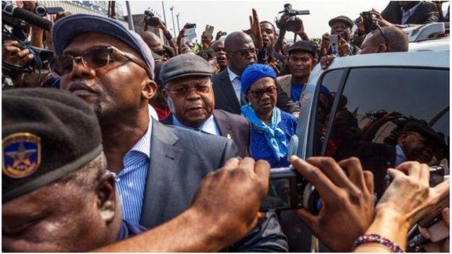 L'opposant historique de la RDC drainait du monde autour de lui.