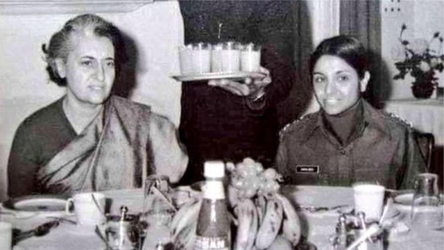 इंदिरा गांधी-किरण बेदी