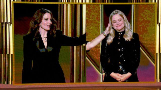Tina Fey e Amy Poehler.