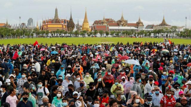 thailand, demonstrasi, monarki