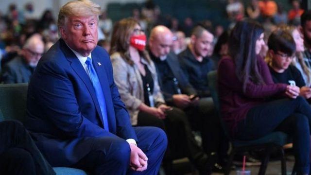Uchaguzi ulibadilika na kuwa kura ya maoni dhidi ya Trump