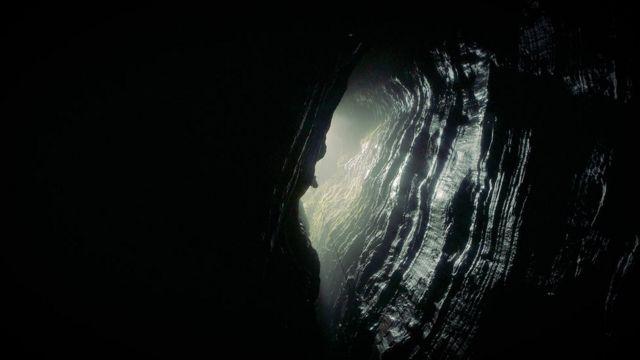 La entrada a la Cueva de los Tayos Foto: Miguel Garzón