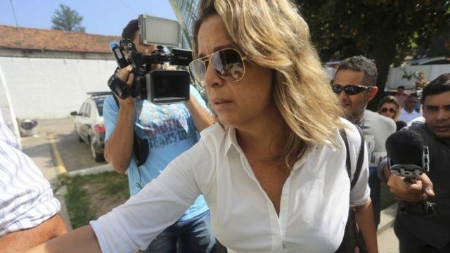 Yunanıstanın Braziliyaya səfiri Kyriakos Amiridisin həyat yoldaşı Francoise Amiridis