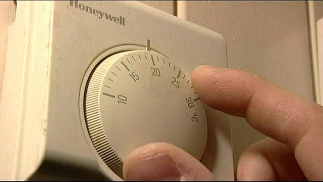 Picture of heating thermostat
