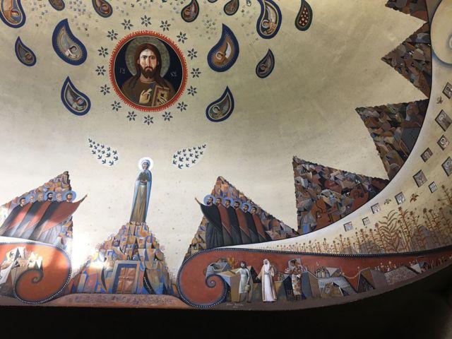 В городке Шамбези под Женевой в 60-х годах прошлого века Константинополь обустроил свой учебный и экуменический центр