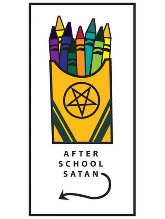 Publicidade do clube de Satã