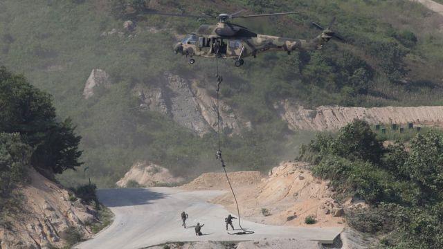 2015年8月の米韓合同軍事演習