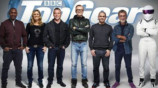 The new Top Gear presenting team