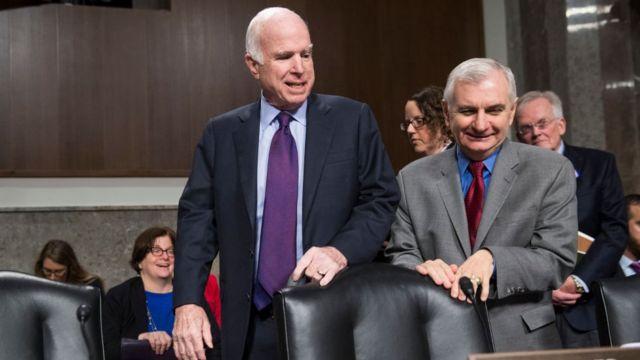 Маккейн в сенате
