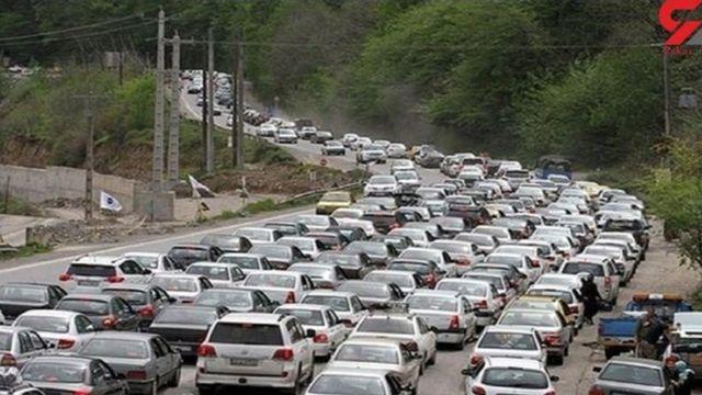 ترافیک در آزادراه تهران - کرج
