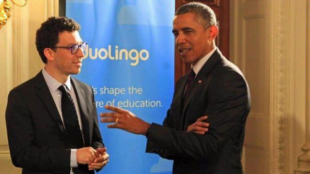 Luis von Ahn dan Obama