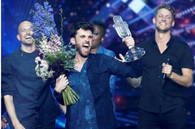 """2019 Eurovision Şarkı Yarışması'nı Duncan Laurence'ın """"Arcade"""" adlı şarkısıyla Hollanda kazanmıştı"""