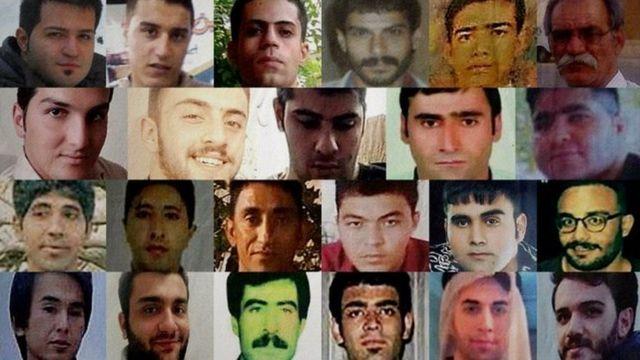 تصاویر بعضی از بازداشت شدگان که عفو بینالملل به نام آنها اشاره کرده است