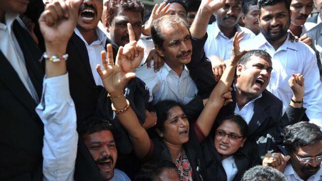 న్యాయవాదులు, హైదరాబాద్ హైకోర్టు