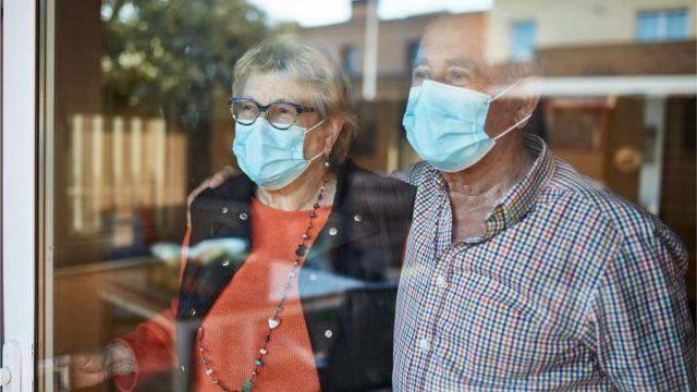 Un couple plus âgé